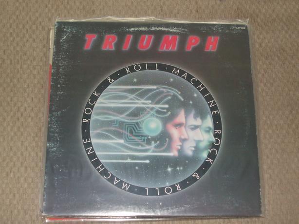 TRIUMPH - ROCK & ROLL MACHINE (VINYL)