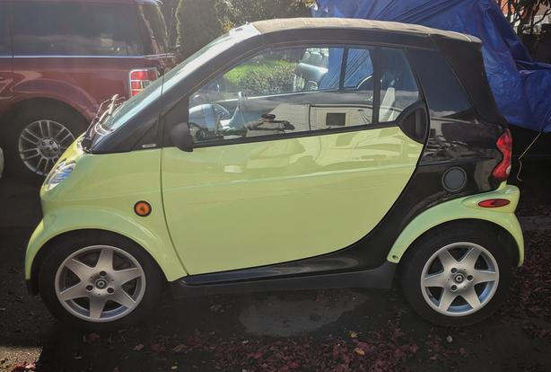 2005 Smart Fortwo Diesel Cabriolet Pulse