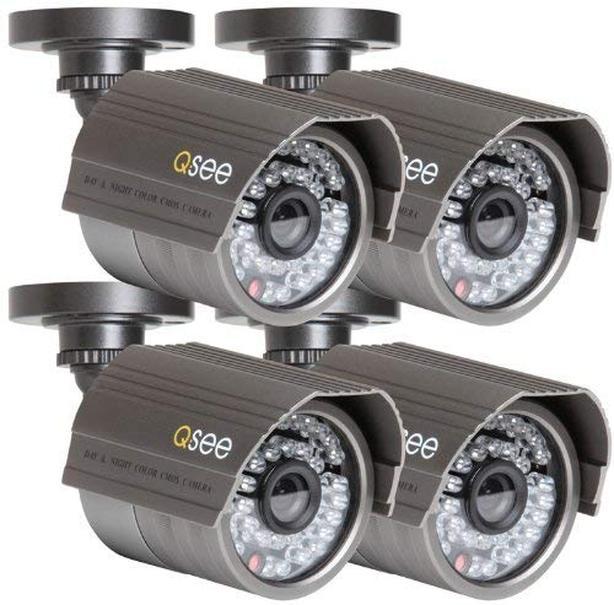Q-See Indoor Outdoor Bullet Security Camera 520TVL - QSM5265C (Set of 4)
