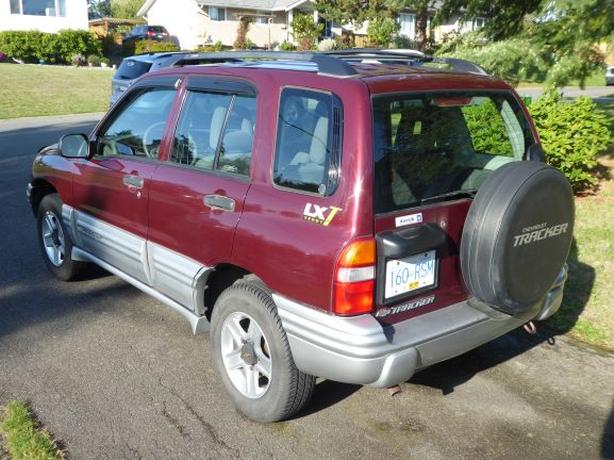2002 Chevy Tracker 4wd Manual Saanich Victoria Mobile
