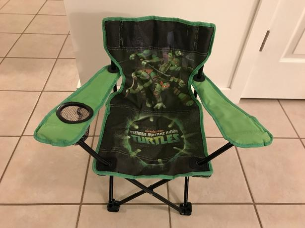 Kids Ninja Turtles Camp Chairs