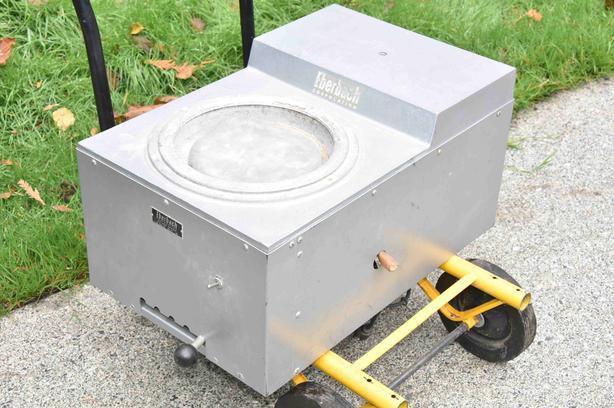 "Eberbach Flat Lap polishing machine 8"""