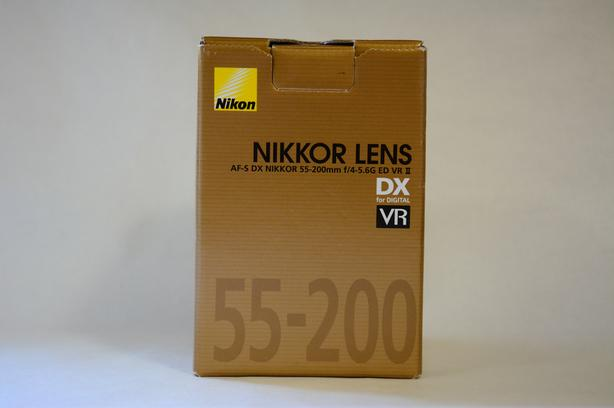 AF-S DX VRII Zoom-Nikkor 55-200mm f/4-5.6G IF-ED
