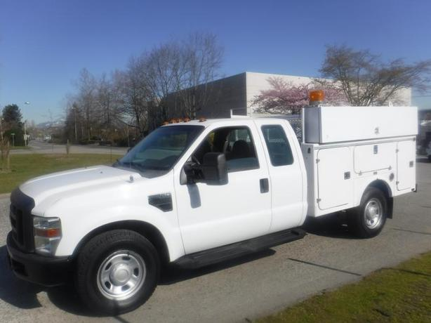 2008 Ford F-350 SD XL SuperCab 2WD Service Truck