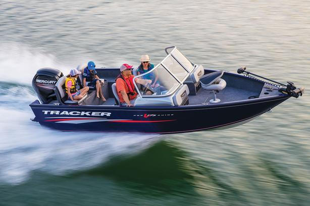 2019 Tracker ProGuideV175 CB  w/Mercury 115hp EXLPT FourStroke