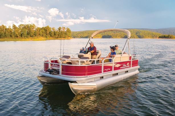 2019 SunTracker Bass Buggy 18 DLX w/Mercury 40 ELPT FourStroke CTt Bigfoot