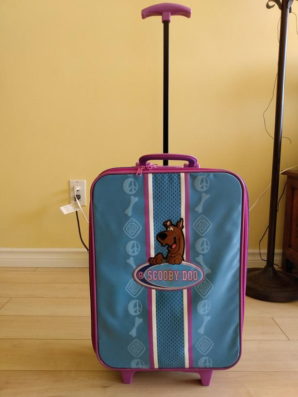 Scooby Doo Rooling Suitcase Carry On Luggage