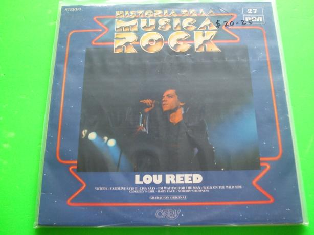 Lou Reed ~ Historia Musica Rock - Spanish best of from 1982 (VINYL)