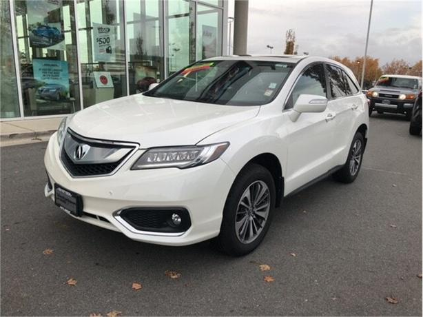 2017 Acura RDX Elite AWD No Accidents Local B.C.