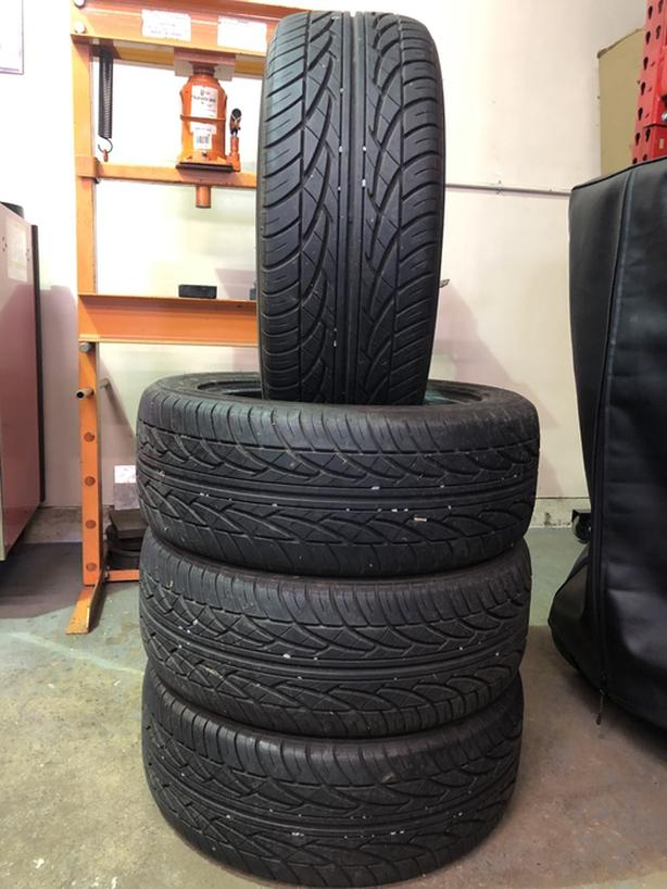 Set of 205/55 R16 all season tires