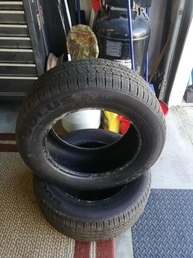 """For Sale Kumho 16""""M*S Tires"""