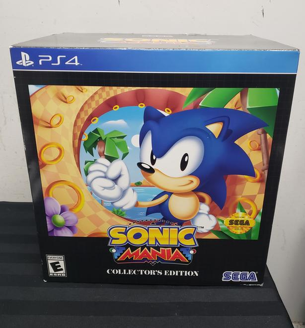 PS4 Game Sonic Mania Collector's Edition