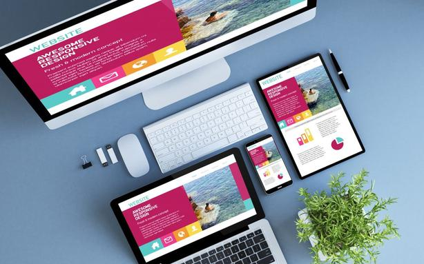 Sell websites and web design services