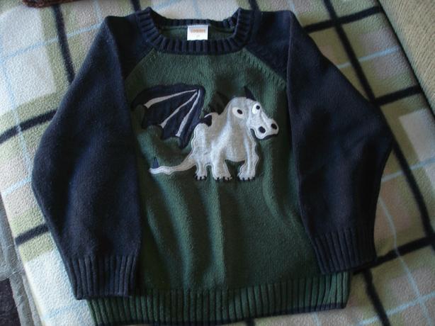 Gymboree size 2 cute warm dragon sweater
