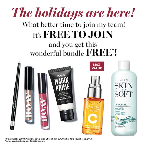 Start Your Avon Business Today