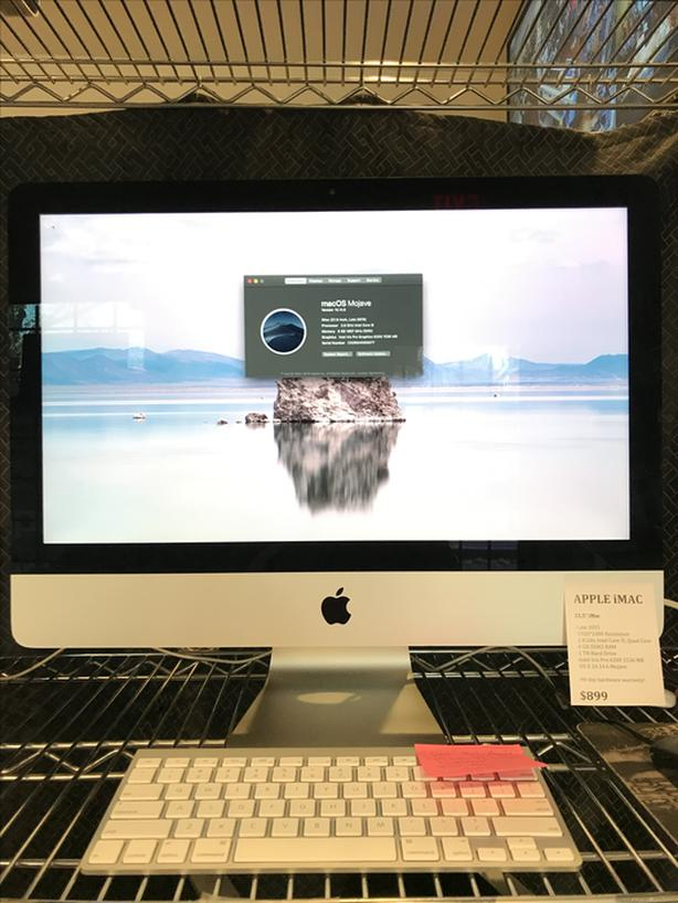 "2015-2017 21.5"" iMac 2.8 GHz Quad Core 8GB RAM 1TB HD w/ Warranty!"