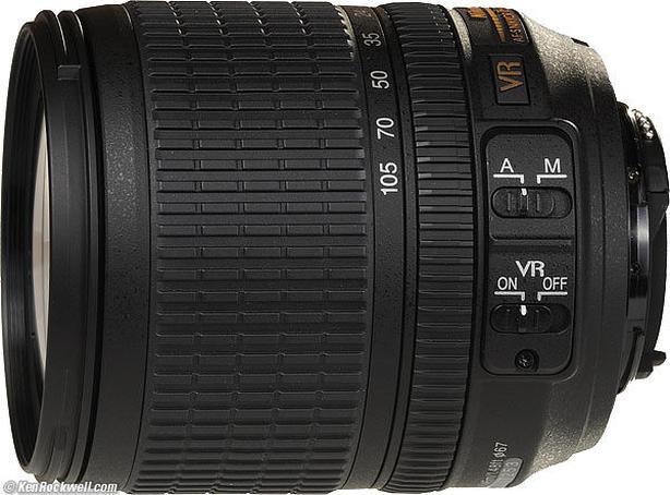 NIKKOR AF-S 18-105 f/3.5-5. G ED VR UV Filter incl. / *REDUCED*