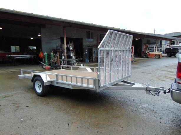 "6'6""x 12' with front ramp Two quad trailer"