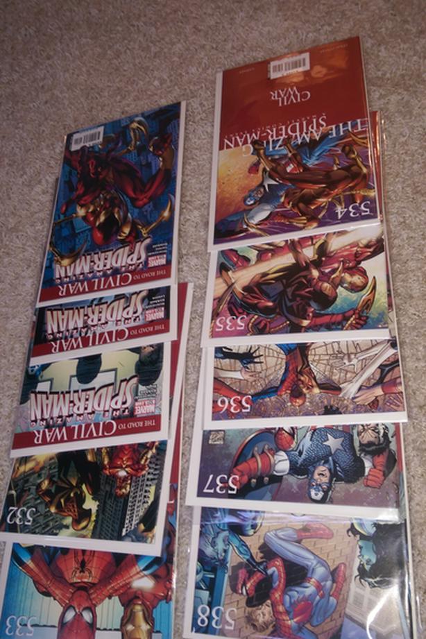 Spider-Man Comics (Updated Nov.02)