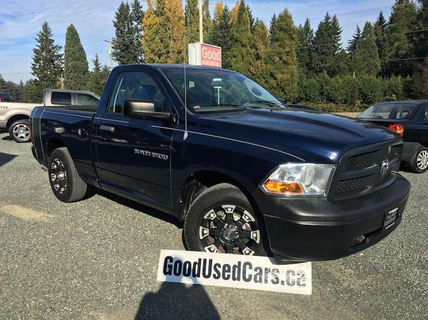 2012 Ram 1500 - Single Cab Short Box with only 139,000 KM