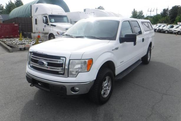 2013 Ford F-150 XLT SuperCrew 6.5-ft. Bed 4WD EcoBoost with Canopy