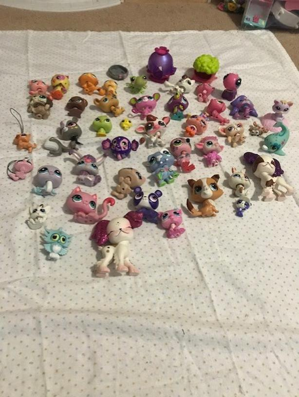 My littlest pet shop toys