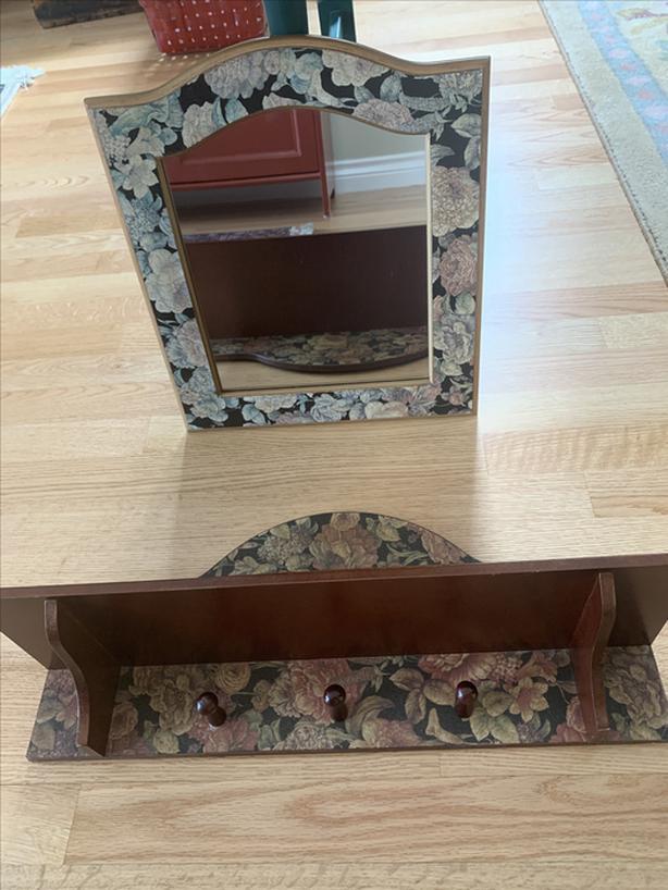 Mirror & Shelf  SET