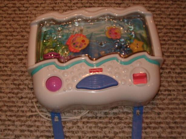 Fisher price ocean wonders aquarium music crib toy baby