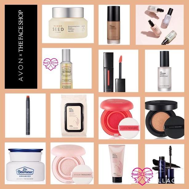Avon X The Face Shop
