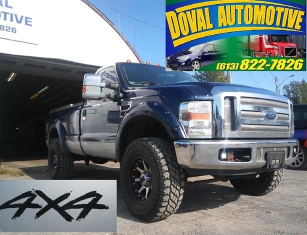 SAFETIED 2008 F250 Super Duty 4x4 Fully Loaded, Custom Truck