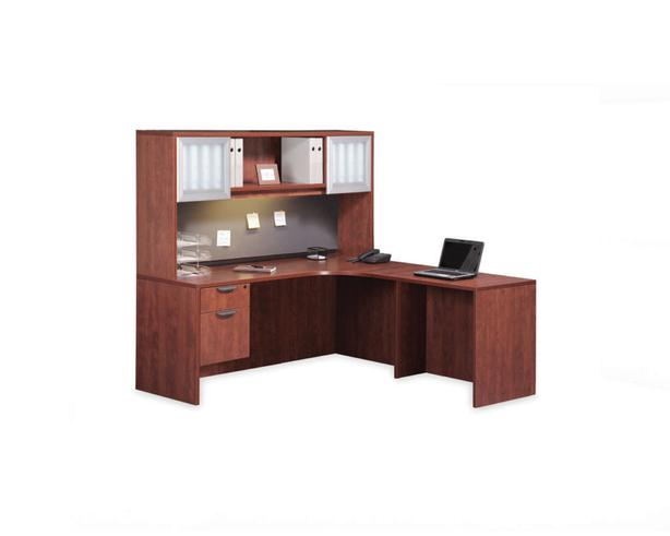 L-shaped executive desks.  Excellent condition