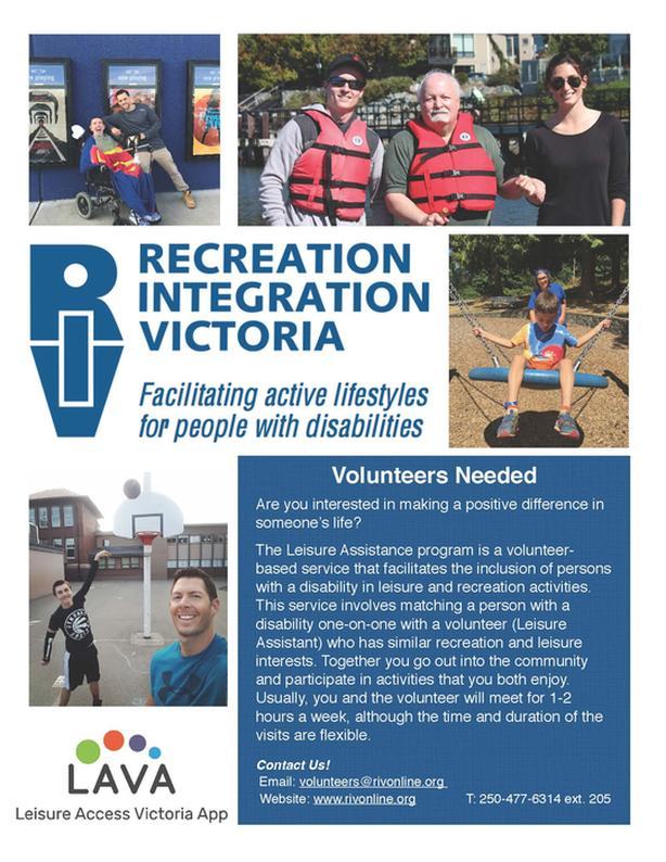 Recreation Volunteers Wanted