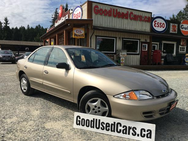 2000 Chevrolet Cavalier Only 148,000 KM with A/C