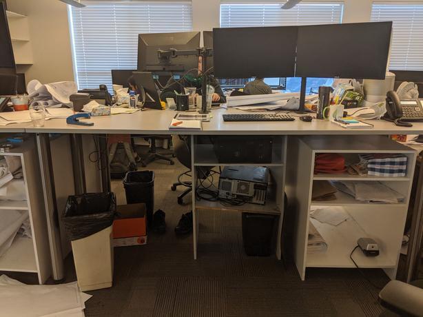 Tall Office Desks/ tables