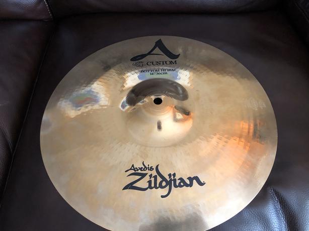 "Zildjian 14"" A-custom Hi Hats"