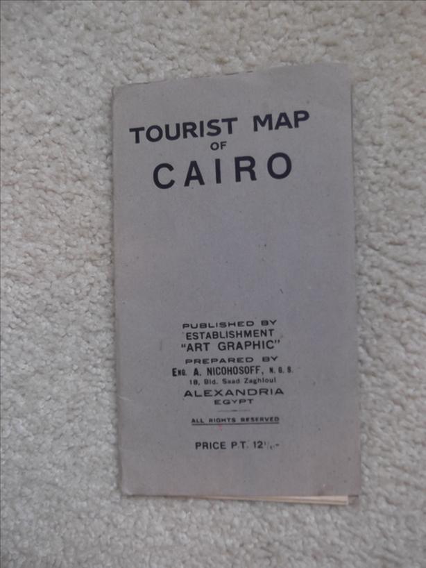 Tourist Map Of Cairo