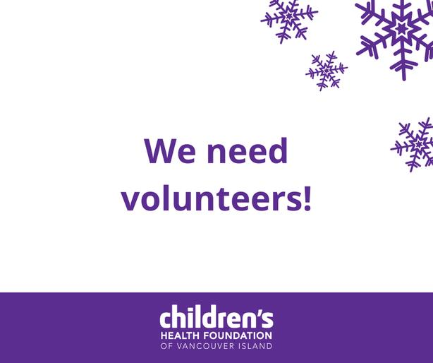 Volunteer with us - Children's Health Foundation of Vancouver Island