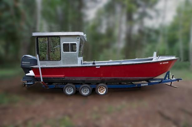 1997 / 29FT Custom Barge