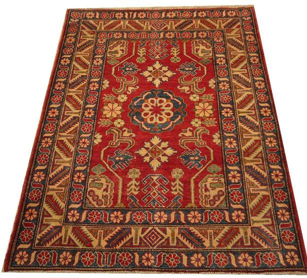 """Handmade Traditional Afghan Area Rug 5'4"""" x 3'11"""""""