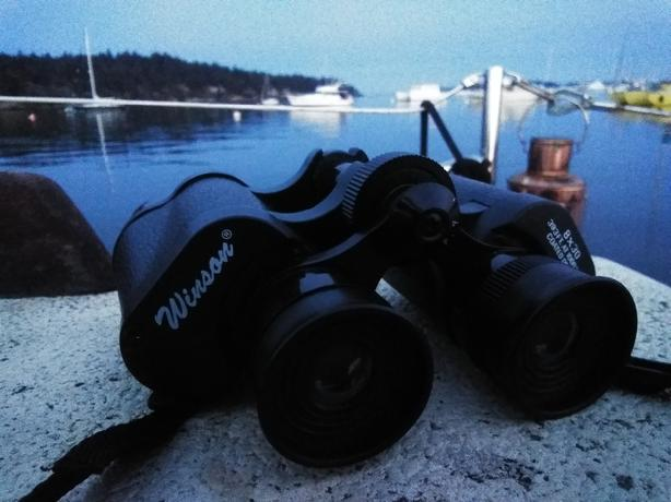 Wilson 8x30 Binoculars AMAZING CONDITION +extras