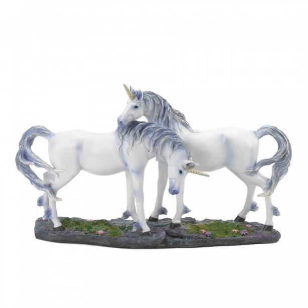 White UNICORN Statue Figurine 3 Styles Mixed Brand New