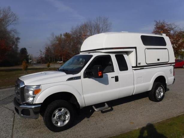 2012 Ford F-350 SuperCab Long Bed 4WD Work Canopy
