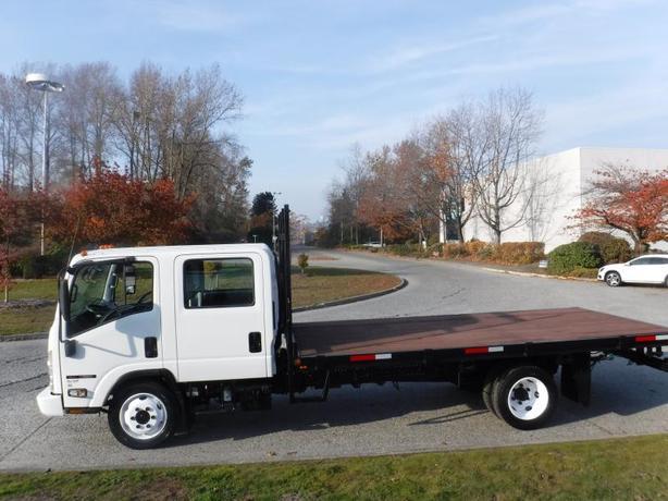 2008 GMC W55000 Flat Deck 16 Foot Crew Cab Diesel