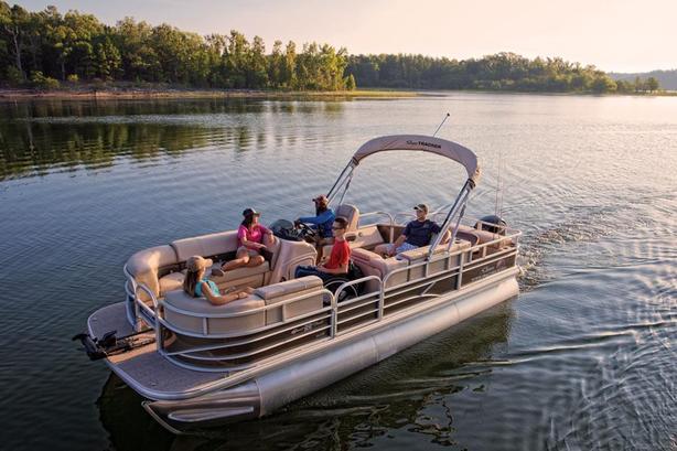 2019 Suntracker Sport Fish 22 XP3 w/Mercury 150 HP FourStroke