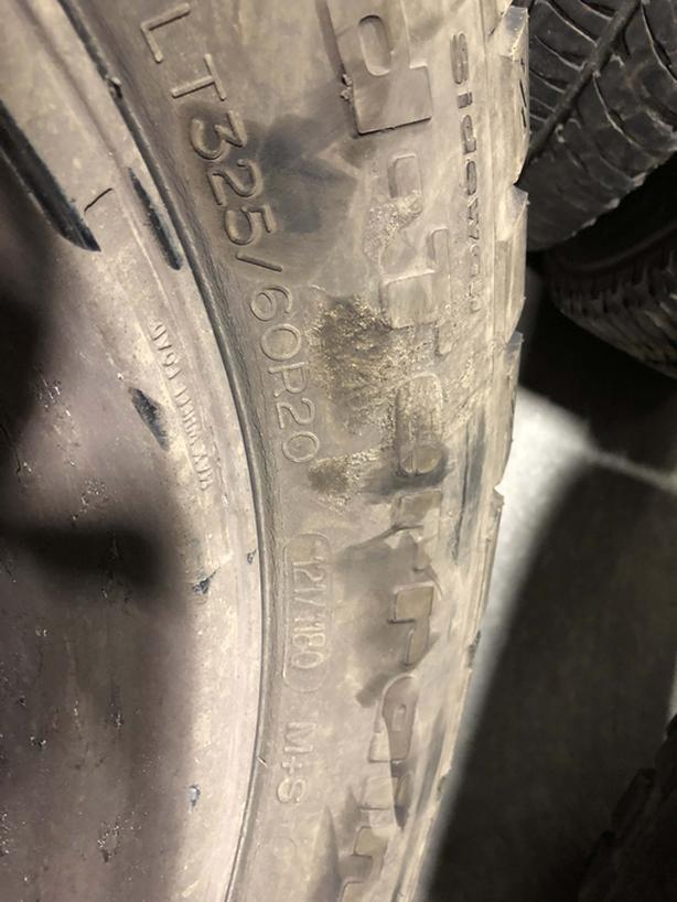BFG wheels and Tires