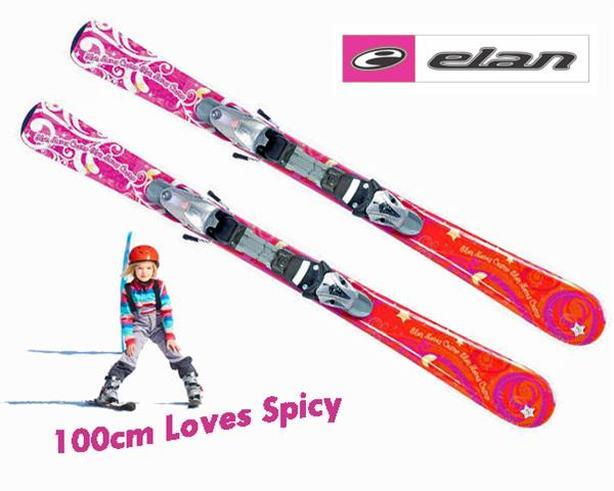 100cm ~ Elan Loves Spicy Skis