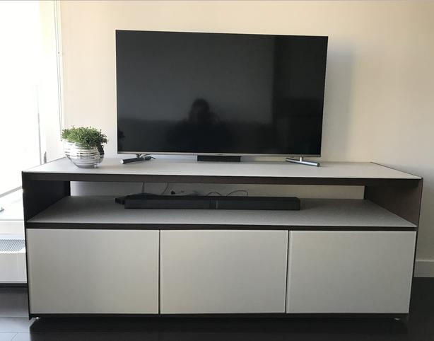 Like New - High Quality - Tv Stand Media Unit from Bay Side Furniture
