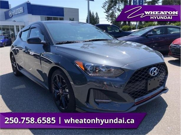 2019 Hyundai Veloster Turbo Tech w/Performance Package Two-Tone Manual -