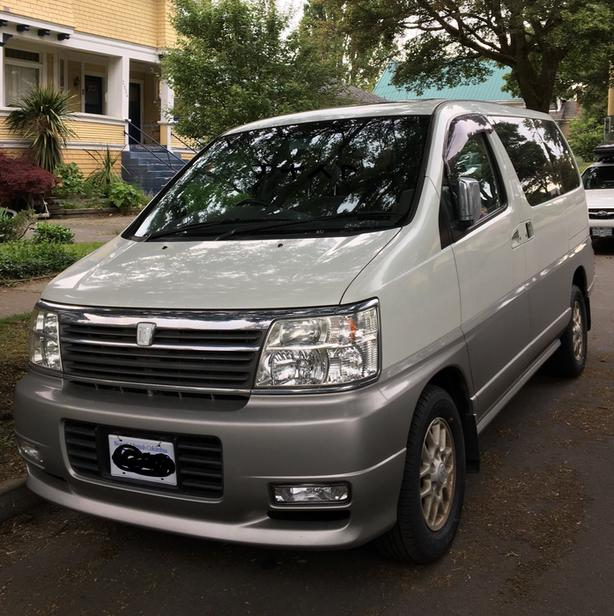 [JDM]2002 Nissan Elgrand 15,xxxkm very low km!!