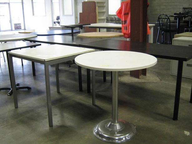 TABLES, OFFICE FURNITURE SALE